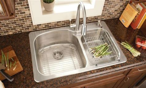 Kitchen Sink Designs with Awesome and Functional Faucet
