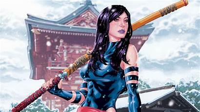 Psylocke Marvel Fantasy Xmen Warrior Wallpapers Babe