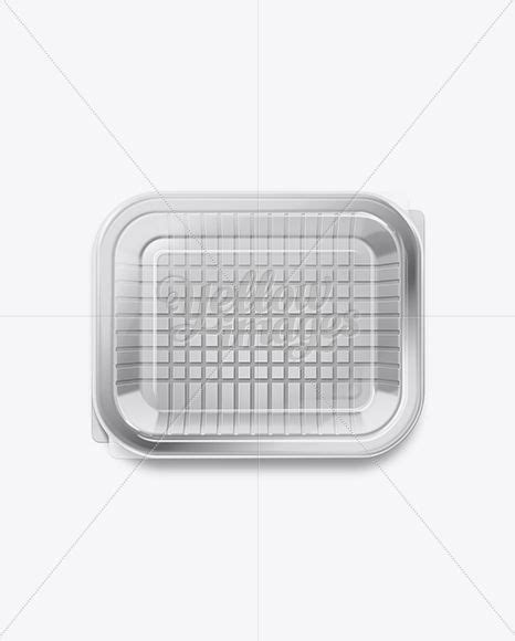 Simple edit with smart layers. Download White Plastic Food Tray with Transparent Lid PSD ...