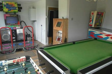 Games Room Luxury Self Catering Cottage (england