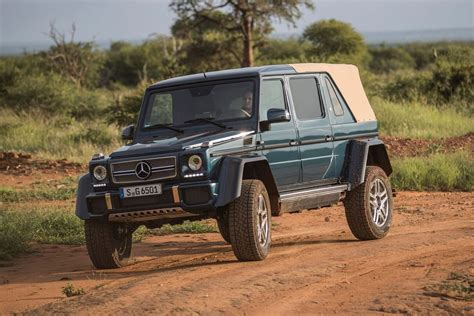 We may earn money from the links on this page. New Mercedes-Maybach G 650 Landaulet 2017 review   Auto Express