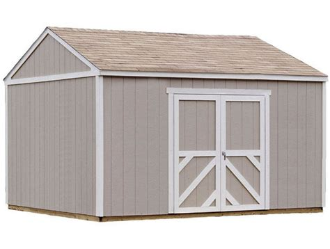 sheds for less direct handy home columbia 12x16 wood storage shed w floor 18219 8