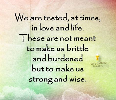 Quotes About Being Tested By God