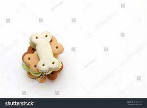 Dog Food Pile Dog Biscuits Shape Stock Photo 419565319 ...