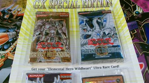 yugioh booster gx pack special