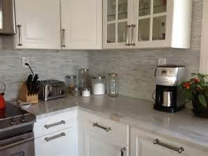 Stick On Backsplash For Kitchen Hometalk Peel And Stick Backsplash Mosaic Metallic Glass Tile Backsplash