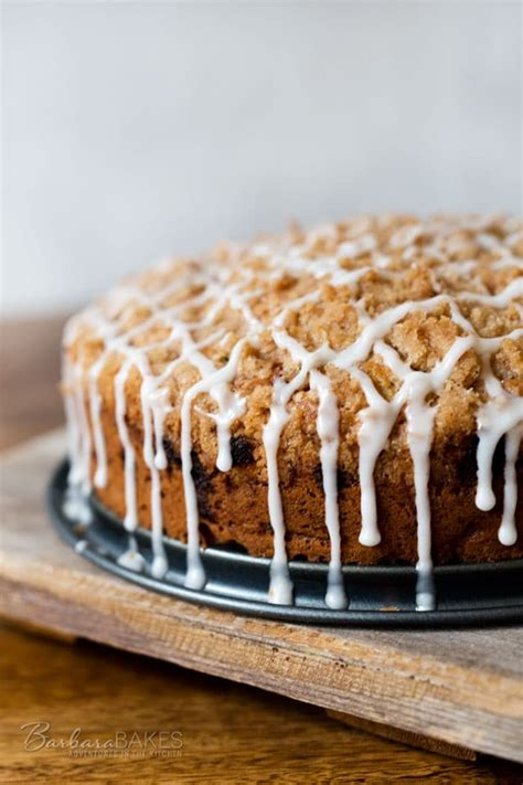 Not only did i put vegetables in your cake… …but i sliced a loaf cake into squares. Cinnamon Zucchini Streusel Coffee Cake - Barbara Bakes™