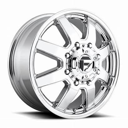 Dually Maverick Wheels Fuel D536 Chrome Lug
