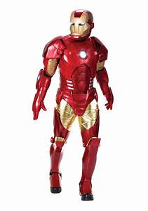 Authentic Men's Iron Man Costume