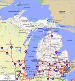 Michigan City Road Map