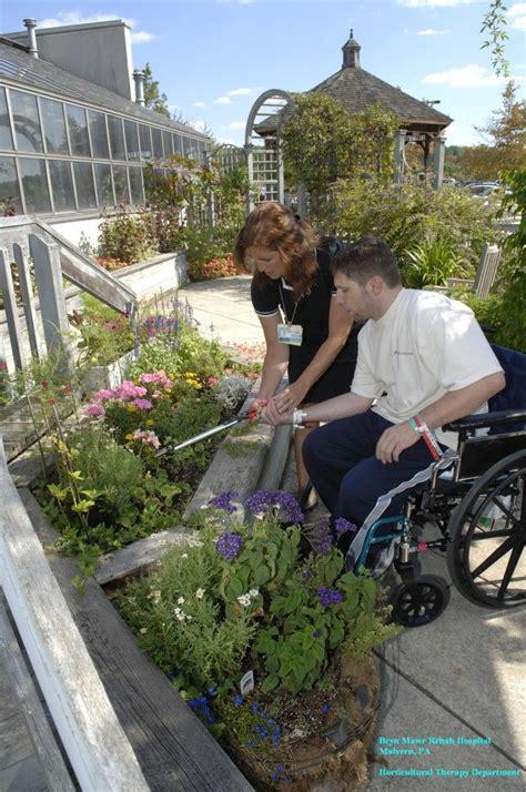 bryn mawr rehab hospital sensory garden healing garden