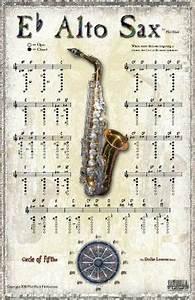 Bari Sax Chart E Flat Alto Sax Chart Saxophones In 2019