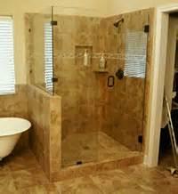 bathroom walk in shower ideas custom built showers