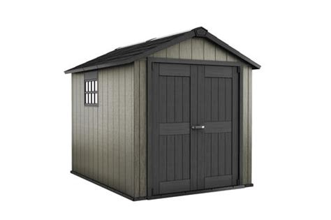 menards resin storage sheds keter 174 oakland 7 6 quot x 7 paintable storage building at