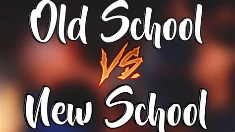 Old School Vs New School The Best Monsters Rimas Hd
