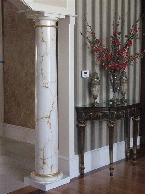 painted columns images  pinterest columns