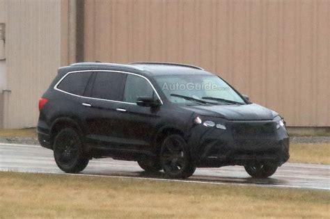 2019 Honda Pilot Partially Revealed In New Spy Photos