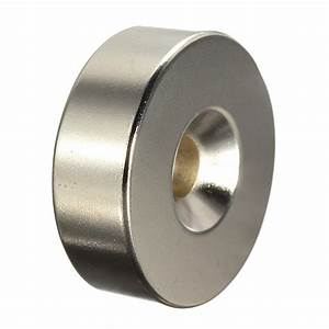 30mm x 10mm with 6mm Countersink Hole N35 Strong Disc ...