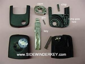 Flip Key Cam Pin Kit Vw 1998