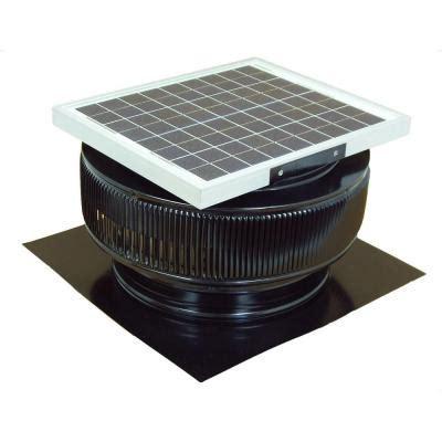 solar powered attic fan reviews active ventilation 15 watt black solar powered roof