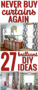 how to make your own curtains 27 brilliant diy ideas and tutorials