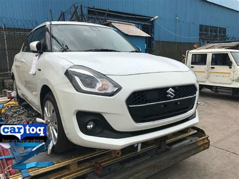 2018 Maruti Suzuki Swift Hybrid Snapped In India For The