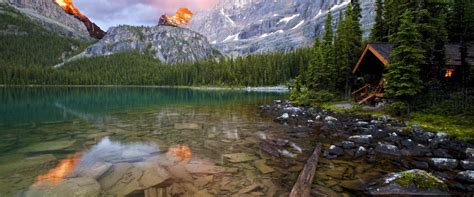 A Canadian Rocky Mountain Lodge | Lake O'Hara Lodge