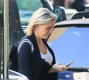 Megyn Kelly hangs her head as she returns home from Today ...