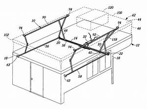 Patent Us7090286 - Powered Camper Top Lift System