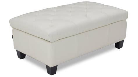large white tufted ottoman carson tufted contemporary ottoman white zuri furniture