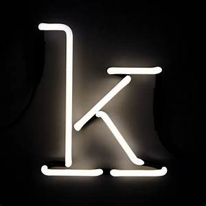 seletti neon wall light letter k iwoot With neon wall letters
