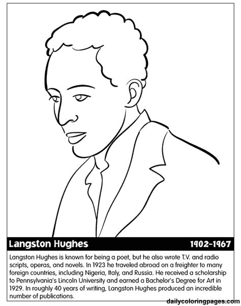 Famous African Americans Coloring Pages - Costumepartyrun