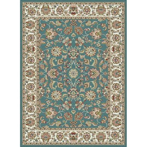 home depot area rugs 8x10 tayse international trading aqua blue ivory 8 x 10