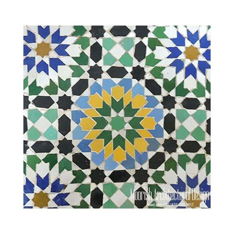 tile moroccan spanish tiles mosaic moorish andalusian pool mexican