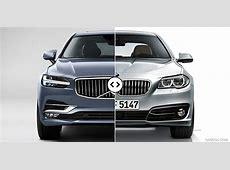 Volvo S90 vs BMW 5Series Front Comparison #1