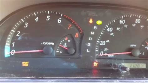 engine light on and off turn off check engine light toyota camry 2004 www