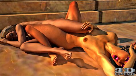 3d Egyptian Lesbian Chicks Having Sex In The Temple Xxx Gallery 3d Demons Pleasure