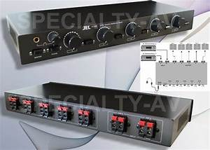 New 10 Speaker Selector Switch W Level Volume Control