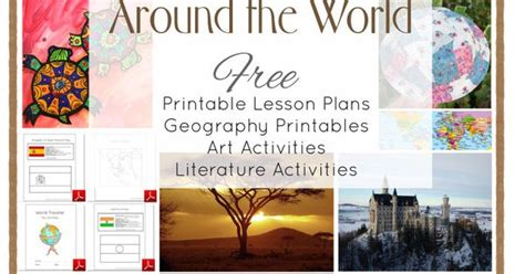 Around The World In 28 Weeks Lesson Plans For Preschool