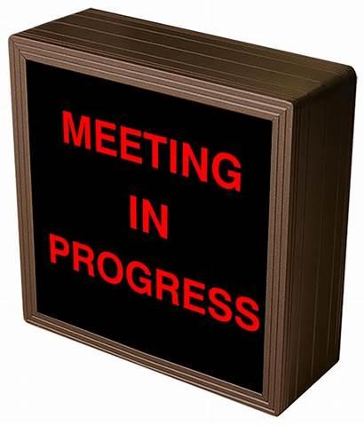 Progress Meeting Sign Led Signal A267 Quiet