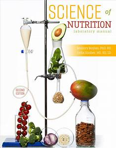 Science Of Nutrition  Laboratory Manual