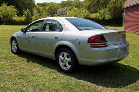 Find Used No Reserve, Low Mileage 2005 Dodge Stratus Sxt 4