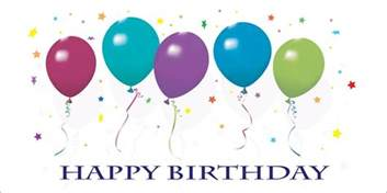 happy birthday balloons card birthday by cardsdirect
