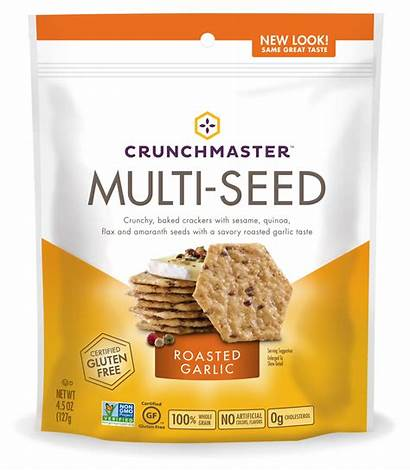 Crackers Multi Crunchmaster Seed Garlic Walmart Roasted