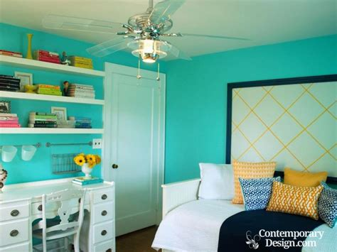 wall colour combination for small bedroom