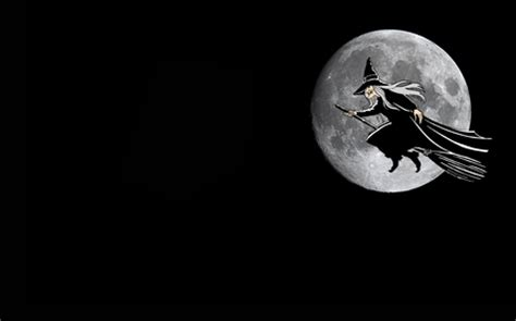 witch full moon moons space background wallpapers