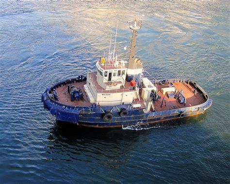 Boat Navigation Definition by Tugboat