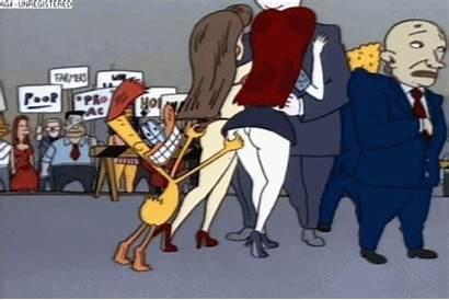 Grab Duckman Butt Katrine Petra Cartoons Animated