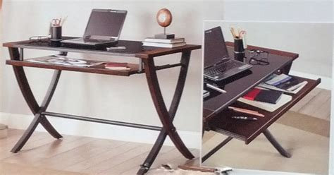 Bayside Furnishings Computer Desk by Bayside Furnishings Nalu Office Computer Desk With Slide