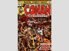 Conan the Barbarian #24 The Song of Red Sonja Issue